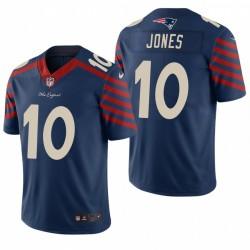 Mac Jones NFL Draft Trikot Patriots Navy City Edition