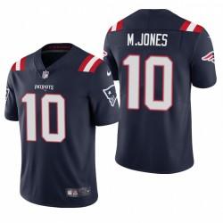 NFL Draft Mac Jones Trikot Patrioten Navy Dampf Limited