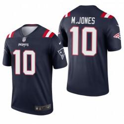 Patrioten Mac Jones NFL Draft Trikot Navy Legende