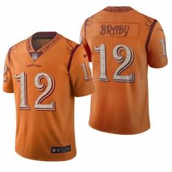 Buccaneers Tom Brady City Edition Trikot Orange