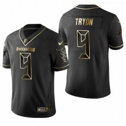 Joe Tryon Golden Limited Trikot Buccaneers Schwarz