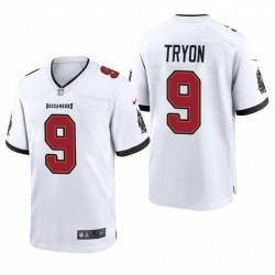 Joe Tryon NFL Draft Buccaneers Trikot Weiß Spiel