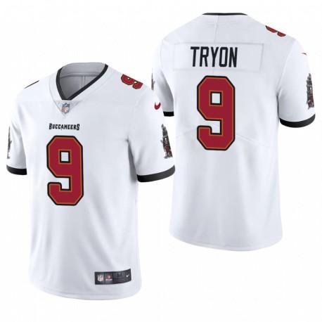 NFL Draft Joe Tryon Trikot Buccaneers Weiß Dampf Limited