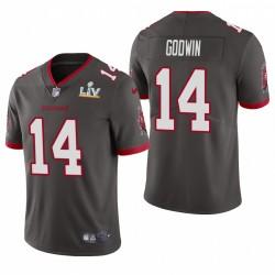 Chris Godwin Super Bowl LV Trikot Buccaneers Pewter Dampf Limited