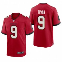 Joe Tryon NFL Draft Buccaneers Trikot ROT SPIEL