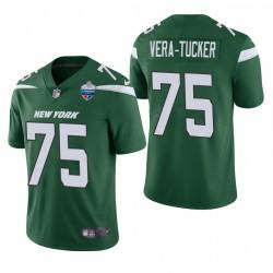 Alijah Vera-Tucker London spiele Patch Trikot Jets Green Limited