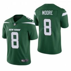 NFL Draft Elijah Moore Trikot Jets Green Dampf Limited