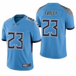NFL Draft Caleb Farley Trikot Titans Light Blue Dampf Limited