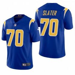NFL Draft Rashawn Slater Trikot Ladegeräte Royal Dampf Limited