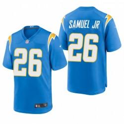 Asante Samuel Jr. NFL Draft Ladegeräte Trikot Pulver Blue SPiel