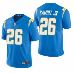 NFL Draft Asante Samuel Jr. Trikot Ladegeräte Pulver Blue Dampf Limited