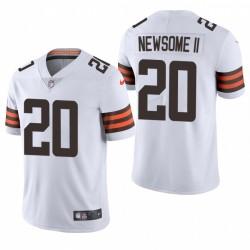 NFL Draft Greg Newsome II TRIKOT BROWNS WEIß DAMPOR LIMITED