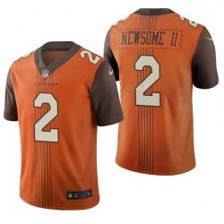 Greg Newsome II NFL Draft Trikot Browns Brown City Edition