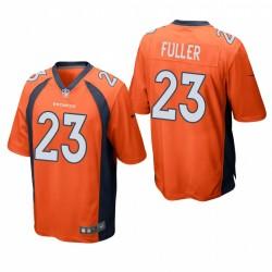 Broncos kyle fulser spiel trikot orange