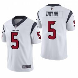 Tyrod Taylor Trikot Texans Weiß Dampf Limited