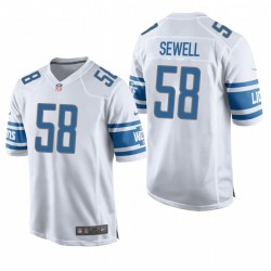 Penei Sewell NFL Draft Lions TRIKOT WEIß SPIEL