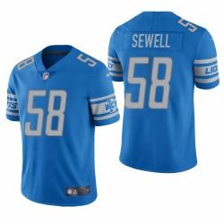 NFL Draft Penei Sewell Trikot Delphins hellblauer Dampf Limited