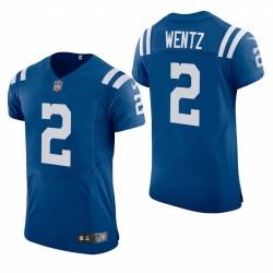 Colts Carson Wentz Vapor Elite Trikot Royal 2021