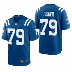 Colts Eric Fisher SPIEL Trikot Royal