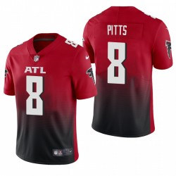 NFL Draft Kyle Pitts Trikot Falcons Rotdampf Limited