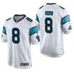 Jaycee Horn NFL Draft Panthers Trikot Weiß Spiel