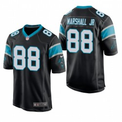 Terrasse Marshall Jr. NFL Draft Panthers Trikot Schwarz Spiel