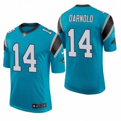 Panthers Sam Darnold Trikot Blue Dampf Limited