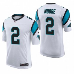 Panthers DJ Moore Classic Limited Trikot Weiß