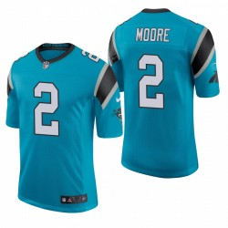 Panthers DJ Moore Classic Limited Trikot Blue