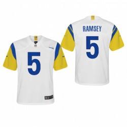 Jugend Jalen Ramsey Spiel Trikot Rams Weiß Modern Thoil