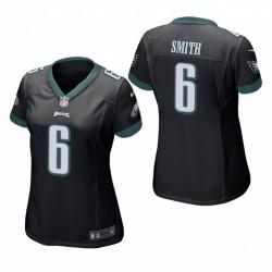 Frauen Devonta Smith NFL Draft Eagles Trikot Schwarz Spiel
