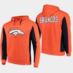 Fanatics gebrandmarkten Männer Denver Broncos Team-Iconic PulloverHoodie - Orange