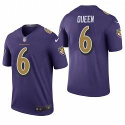 Patrick Queen Trikot Ravens Purple Color Rush Legende