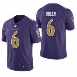 Ravens Patrick Queen Trikot Purple Color Rush Limited