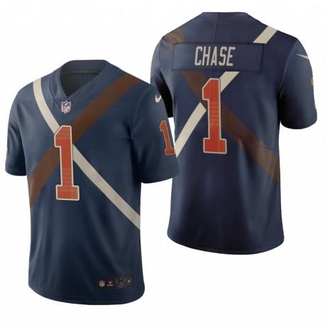 Ja'Marr Chase NFL Draft Trikot Bengals Navy City Edition