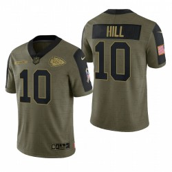 Chiefs Tyreek Hill Great to Service Trikot Olive Limited