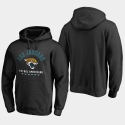 Männer Jacksonville Jaguars Futbol Americano PulloverHoodie - Schwarz