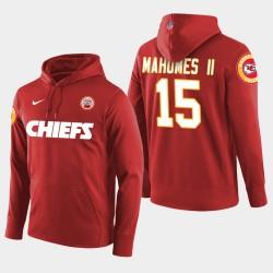 Männer Kansas City Chiefs & 15 Patrick Mahomes II New Season Spieler PulloverHoodie - Rot