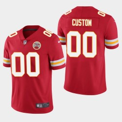 Männer Kansas City Chiefs & 00 Individuelle Vapor Untouchable Limited Jersey - Red