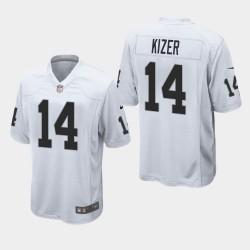 Männer Oakland Raiders & 14 DeShone Kizer Spiel Jersey - Weiß