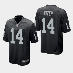 Männer Oakland Raiders & 14 DeShone Kizer Spiel Jersey - Schwarz