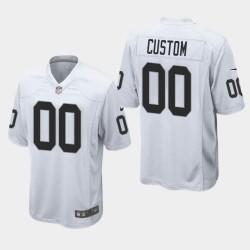 Männer Oakland Raiders & 00 Eigene Spiele Jersey - Weiß