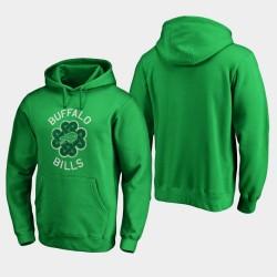 Männer Buffalo Bills St. Patrick Tag Luck Tradition PulloverHoodie - Grün