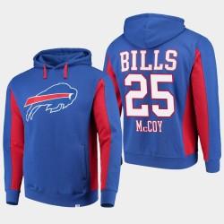 Fanatics gebrandmarkte Männer Buffalo Bills # 25 LeSean McCoy-Team Iconic PulloverHoodie - König