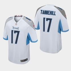 Männer Tennessee Titans und 17 Ryan Tannehill Spiel Jersey - Weiß