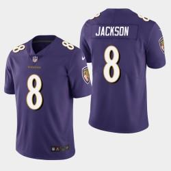 Männer Baltimore Ravens & 8 Lamar Jackson 2018 NFL Draft Vapor Untouchable Limited Jersey - Purple