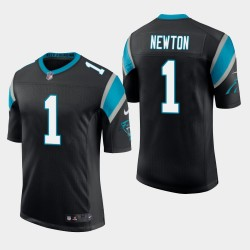 Männer Carolina Panthers & 1 Cam Newton Vapor Untouchable Limited Jersey - Schwarz