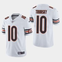 Männer Chicago Bears & 10 Mitchell Trubisky Vapor Untouchable Limited Jersey - Weiß